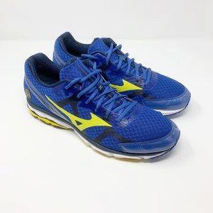 Mizuno | Wave Rider 17 Blue Running Sneakers